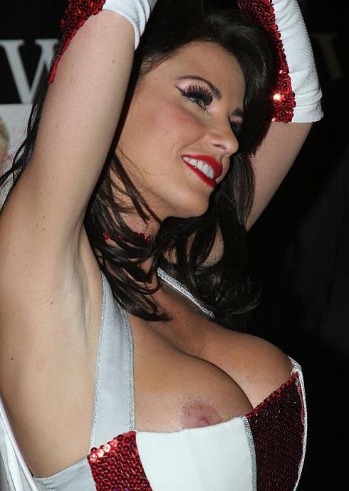 Katie Price 34FF Boobs Nip Slip Picture